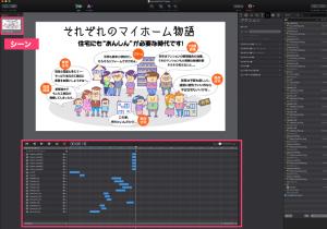 Hype3の作業画面