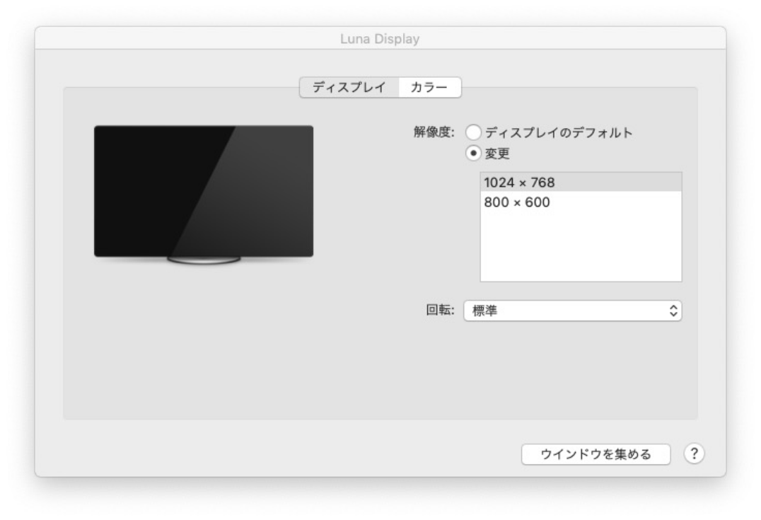 iPad Airの解像度