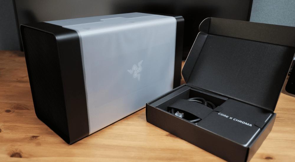 Razer Core X ChromaにMSI Radeon RX 570