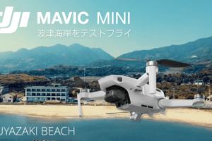 DJI:Mavic Mini(ドローン)で波津海岸・岡垣町・遠賀町の田園風景を空撮