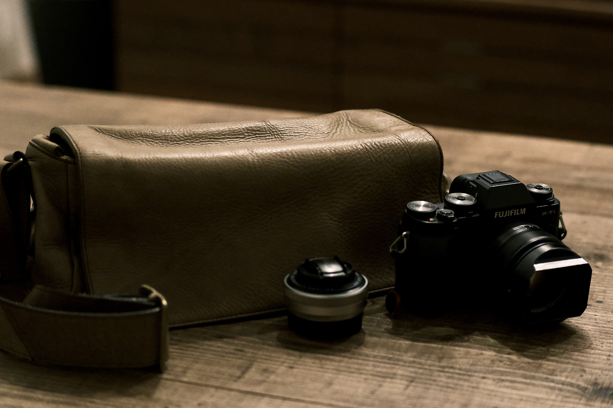 7artisans 50mm F0.95の作成4:土屋鞄
